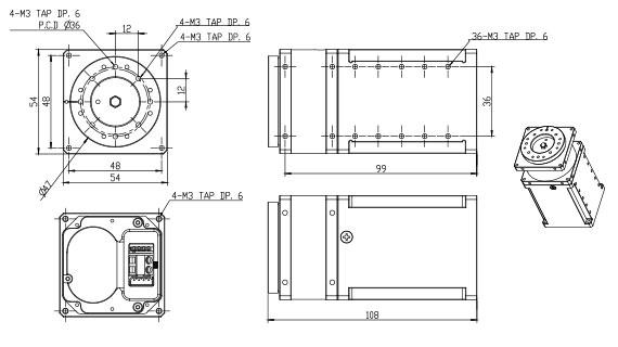 Schéma du H54-100-S500-R